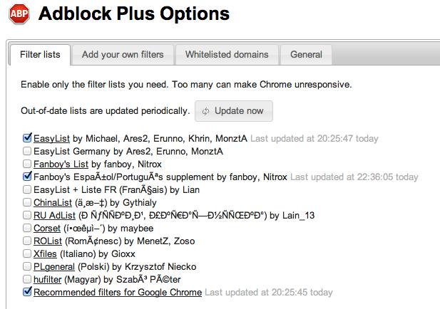adblock bloquear publicidad