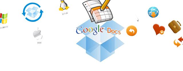 Integración entre Dropbox y Google Docs