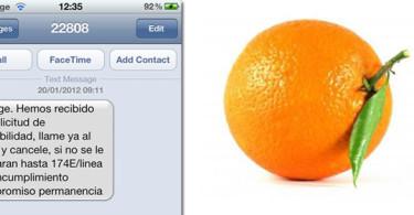 orange sms permanencia