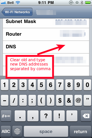 how to change dns on mac for netflix