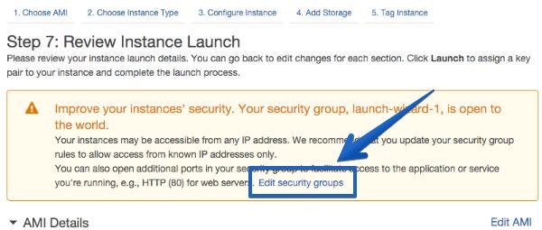 crear grupo de seguridad vps ec2